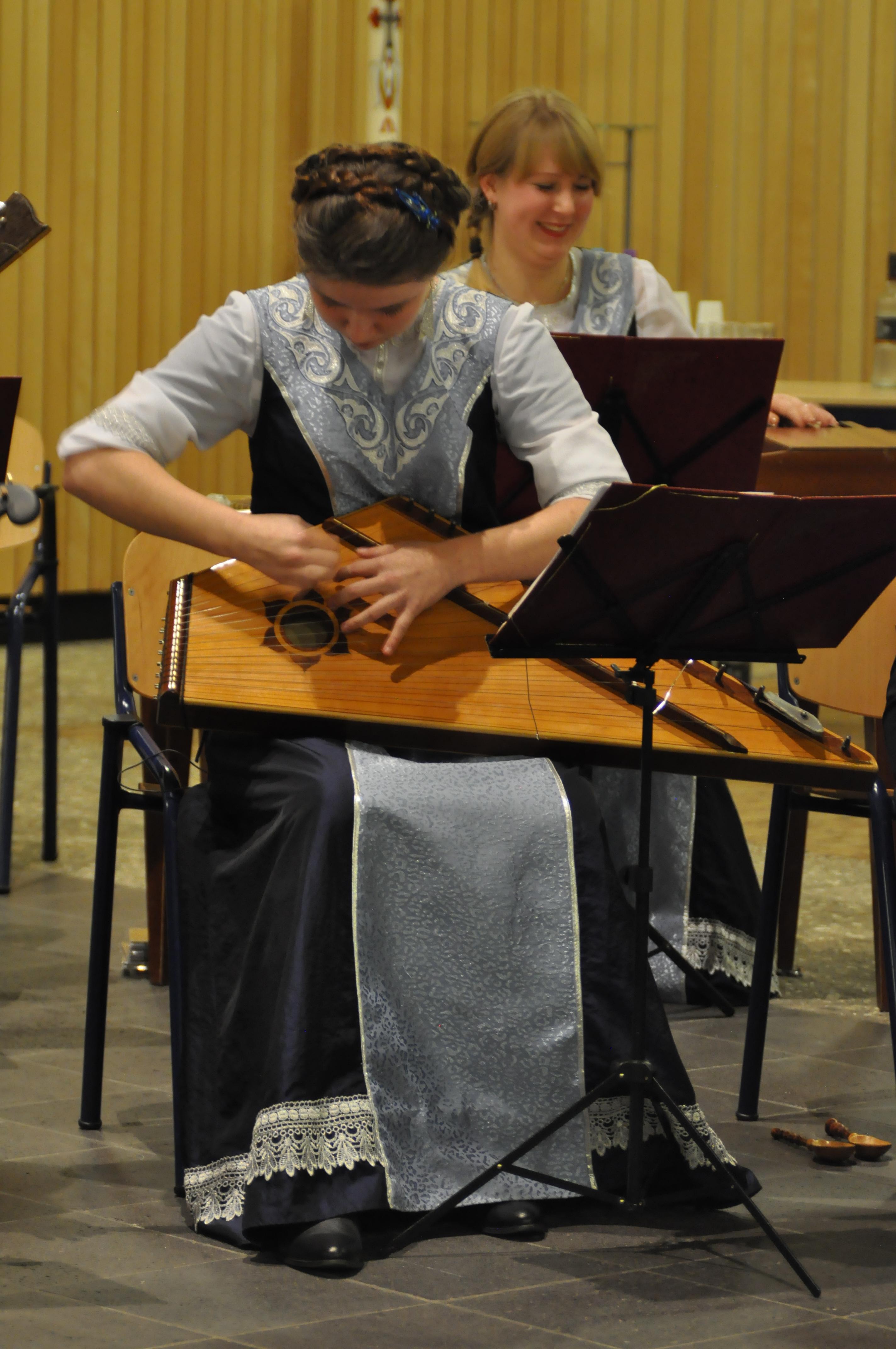 't orkest inspireerde het koor