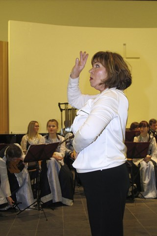 ..een dirigent