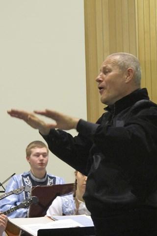 ....nog een dirigent