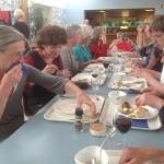 Diner in Egmond in de Stayokay in Egmond